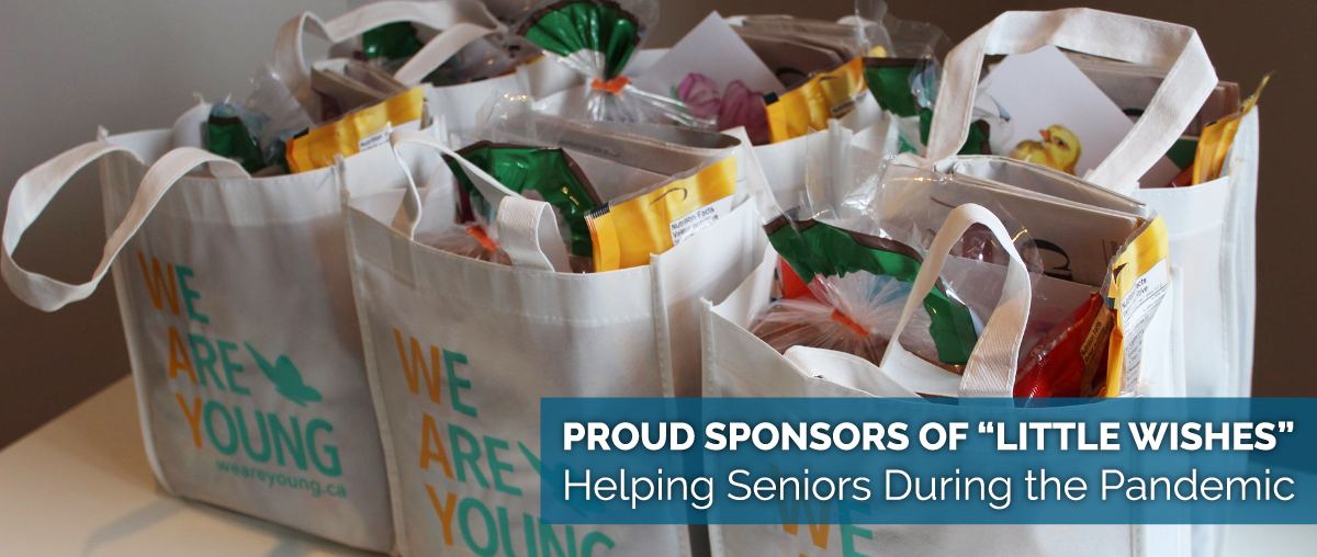 Proud Sponsors of Little Wishes. Helping Seniors During the Pandemic